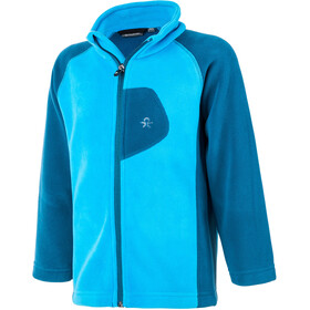 Color Kids Rafting Fleece 2 Face Jacket Kids moroccan blue
